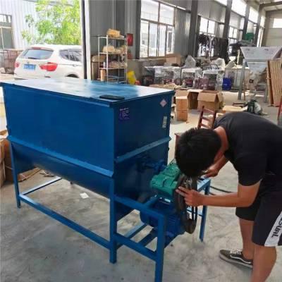 大中型粉体颗粒拌料机 可定做加厚碳钢不锈钢材质搅拌机混合机