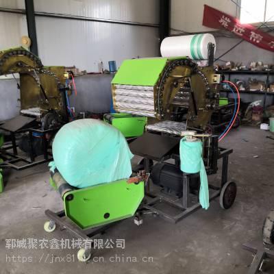 聚农鑫青贮打捆包膜机_多功能青贮打捆包膜机出厂价