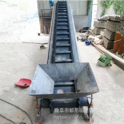 工厂装车输送机定做厂家 废旧钢管装卸输送机 移动式高低可调传送带