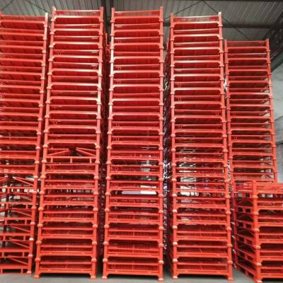 东莞锦川中空板式仓储笼 可牵引周转笼 带轮仓储笼