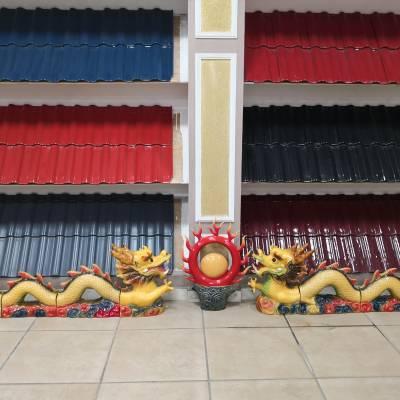 山东淄博全直角瓦全瓷陶土西式S瓦新农村建设屋面瓦