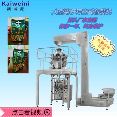 大型食品电子秤包装机 颗粒 粉剂 膨化食品大袋包装机 可定制