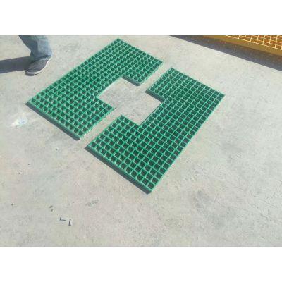 园林绿化护树板用玻璃钢格栅 化工厂排水沟地沟盖板