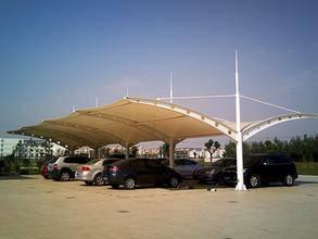停车棚厂家-创锦帆装饰膜结构-盐城车棚