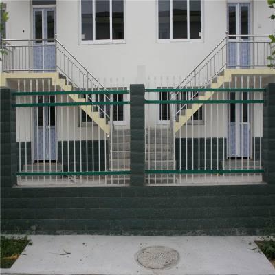 室外围墙栅栏 公园外围栏杆式围墙 欧式栅栏定制