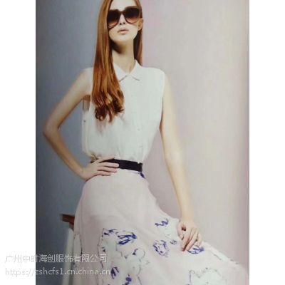 武汉朗黛品牌折扣货源批发女装品牌尾货折扣走份多种款式多种风格