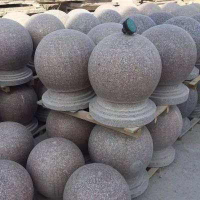 挡车石球一个多少钱,直径40公分挡车石球价格