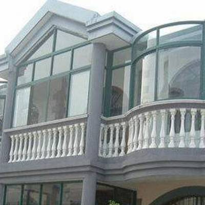 济南三朵云专业快速-中式断桥铝门窗加工