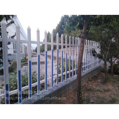 现货供应PVC草坪隔离护栏 市政道路绿化带锌钢隔离栏 塑钢变压器围栏