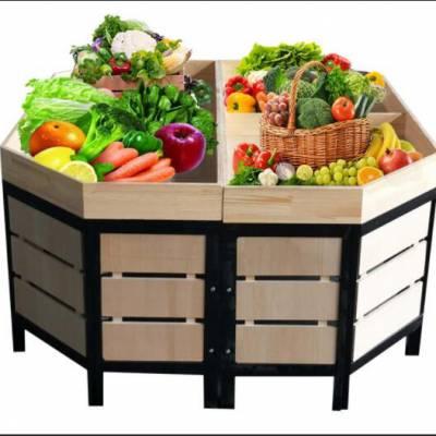 木制水果货架-胜豪仓储设备-东西湖水果货架