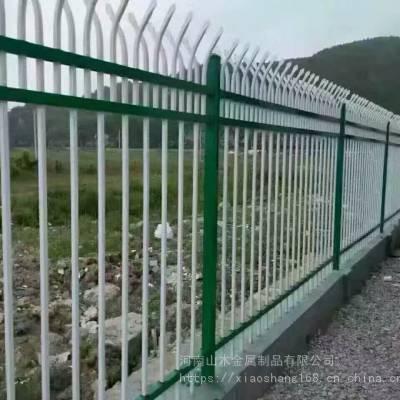 河南山木锌钢护栏厂家供应 铁艺栏杆 围墙栏杆 铁艺围栏安装定做
