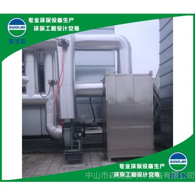 珠海RCO有机废气催化燃烧一体化设备 废气净化处理工程设计与安装