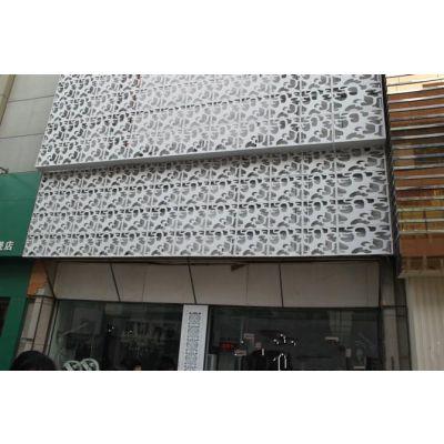广州别墅香槟金门头雕刻铝板厂家批发