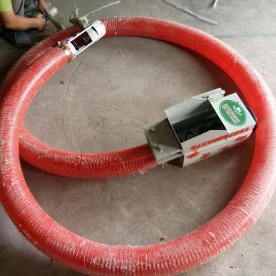 软管螺旋式输送机厂家直销农用车载蛟龙式移动吸粮机哪里便宜