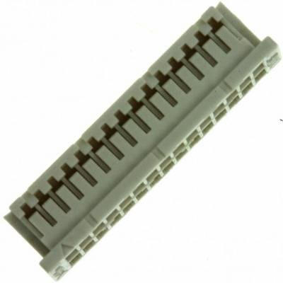HRS连接器胶壳30孔米色矩形连接器DF20A-30DS-1C