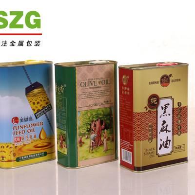 大豆油铁罐包装-铁罐包装-龙波森(查看)