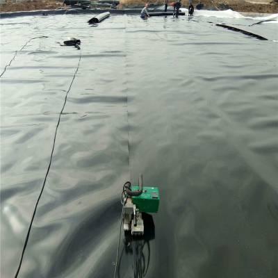 聚乙烯土工膜在浙江尾矿库的焊接做法