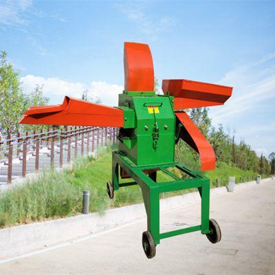 小型家用铡草粉碎揉丝机 家用节能高产铡草机