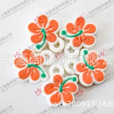 上海豪阔服饰有限公司专业定做定制皮革logo