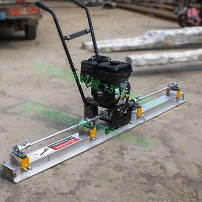 小型混凝土刮平机汽油路面整平尺混凝土平板振动振平器 机械