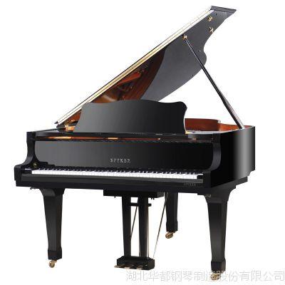 舞台演出传统原声7尺钢琴黑色烤漆U-186机械大型三角钢琴
