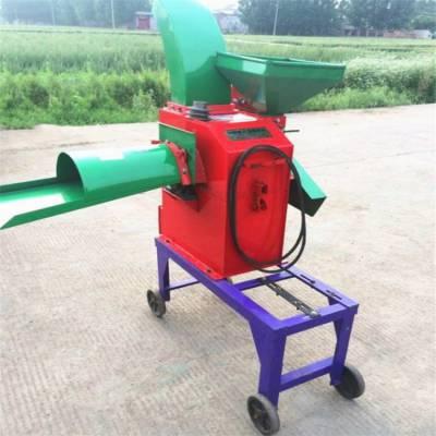 小型家用揉丝铡草机 玉米秸秆粉碎机 稻草粉碎揉丝一体机