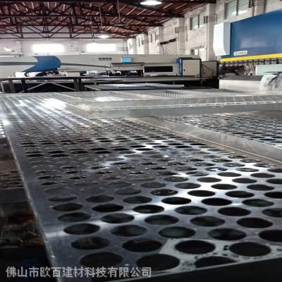 广东佛山幕墙冲孔氟碳铝单板定制生产厂家