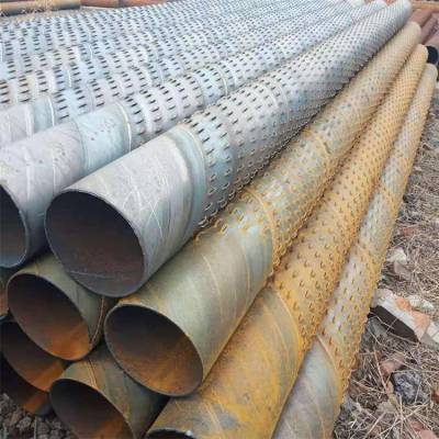 诚信打井滤水管273mm 深水井钢花管滤管厂家