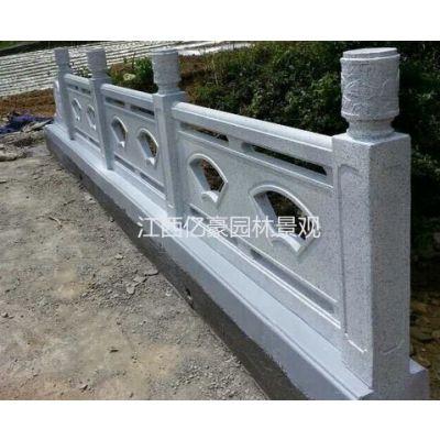 江西九江混凝土仿石栏杆制作 吉安仿大理石护栏多少钱一米