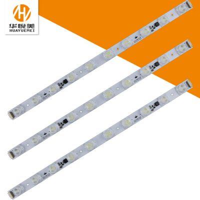 厂家批发56cm*10珠LED硬灯条3535侧光源广告灯24v低压启动可定制