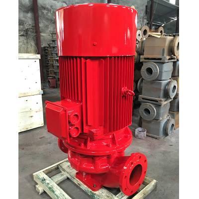 供应消防泵XBD10.5/50G-L 150L 90KW 立式稳压喷淋泵 管道泵 上海江洋 优质厂家