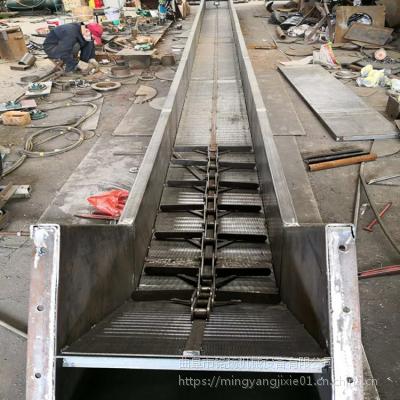 环保型埋刮板输送机长度定制 粉状小颗粒状刮板输送机铭扬机械