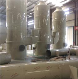 喷淋脱硫塔-博厚环保塑业