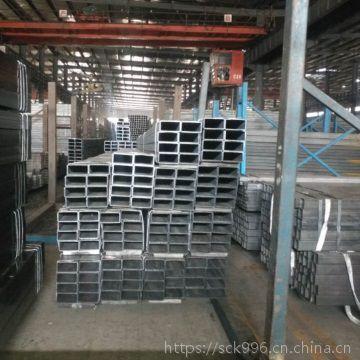 山东 矩管生产 40cr无缝方管 加工非标尺寸大口径无缝管