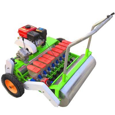 菠菜香菜等蔬菜播种机 手推式四行辣椒播种机 小颗粒种子拖拉机