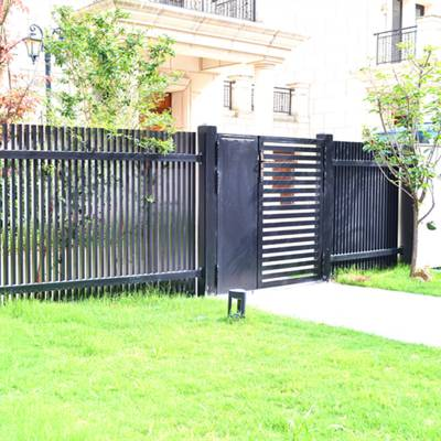 院子围墙门铝合金别墅庭院大门