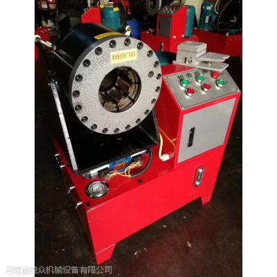 液压胶管压管机/扣压管径6-51mm重庆现货 锐众批发价售