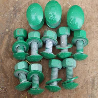 高速护栏板螺栓厂 盛业交通设施 喷塑护栏板螺栓加工厂