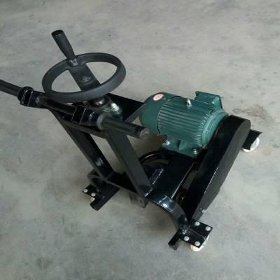 180型开槽机 路面开槽机 手推式小型马路开槽机 汽油式路面开槽机