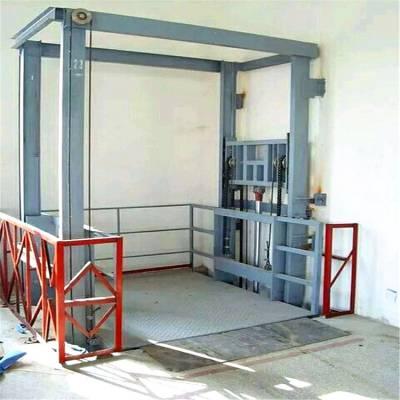 恒久升降机厂家定制钢结构厂房液压式升降货梯 2吨升降货梯价格