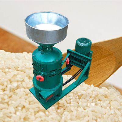 乐农牌 家用小型碾米机 水稻谷子碾米机