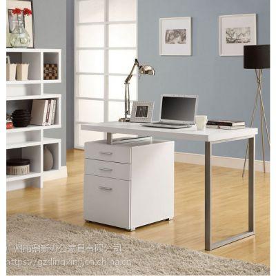 欧式简单款式钢木家用简约现代电脑桌学生书桌办公桌带抽屉 工厂直销