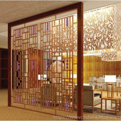 型材金属铝窗花,冰裂纹木纹铝花格优恵厂家