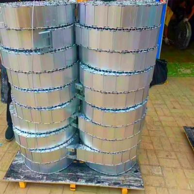 广纳TL125钢制拖链机床油管金属保护链条