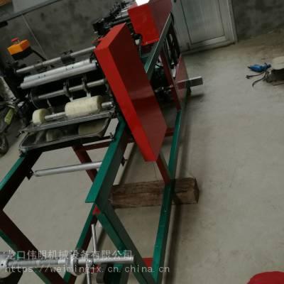 烟台制作V型口的桃袋机也可以制造双层桃子果袋