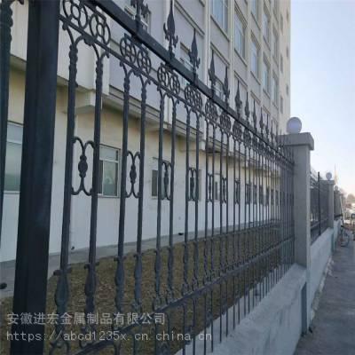 安装宣城市区铝艺围墙护栏 阳台栏杆铝合金围栏栅栏 铁艺别墅庭院户外花园隔离栏