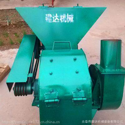花生秧粉碎机 大型沙克龙粉糠机 多少钱一台