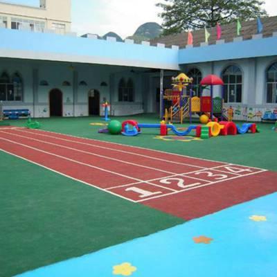 深圳彩色跑道-彩色塑胶耐磨跑道,儿童乐园图案定制施工,幼儿园防滑地垫,学校防滑地面