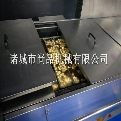 黑椒鸡块油炸机 肯德基麦乐鸡块油炸流水线 香辣鸡块油炸设备