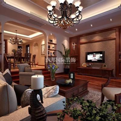 南京美式风格别墅装修设计方案-南京润邦国际装饰
